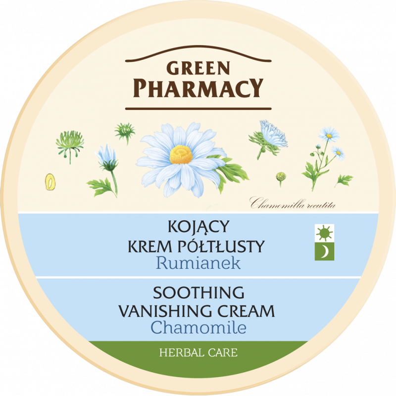Krém na tvár Green Pharmacy 150 ml Harmanček