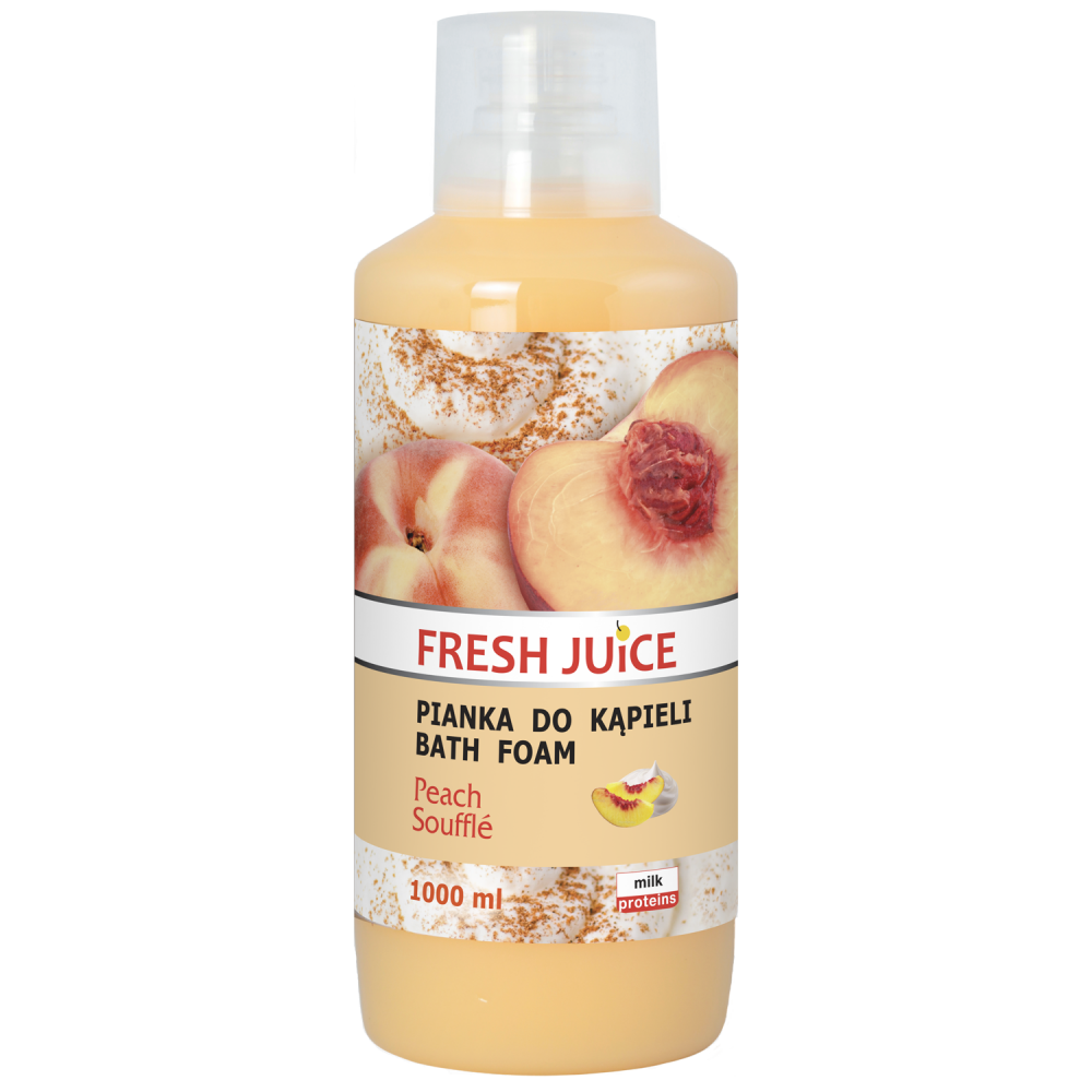 Pena do kúpeľa Fresh Juice 1000ml Broskyňa